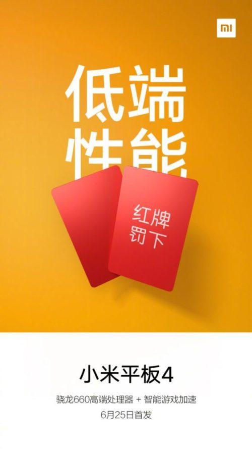 Xiaomi Mi Pad 4 Soc Snapdragon 660