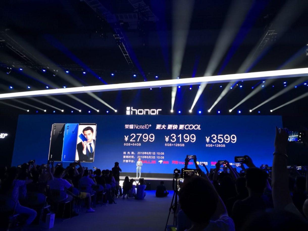 Honor-Note-10-price