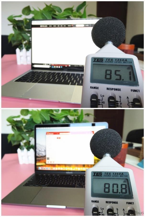 Huawei MateBook X Pro Vs Apple MacBook Pro 2018 Comparison Review - Sound comparison