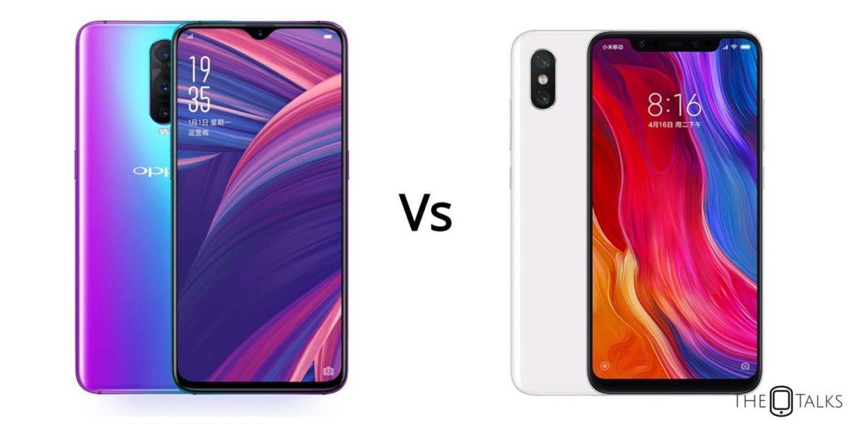 OPPO R17 Vs Xiaomi Mi 8 SE Comparison