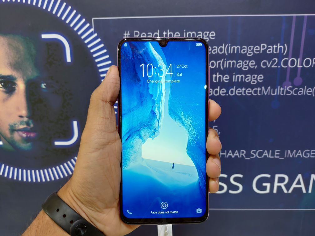 Vivo Y97 Hands-On - Screen