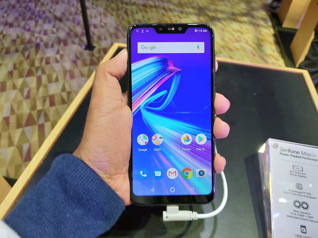 ASUS Zenfone Max M2 - Display