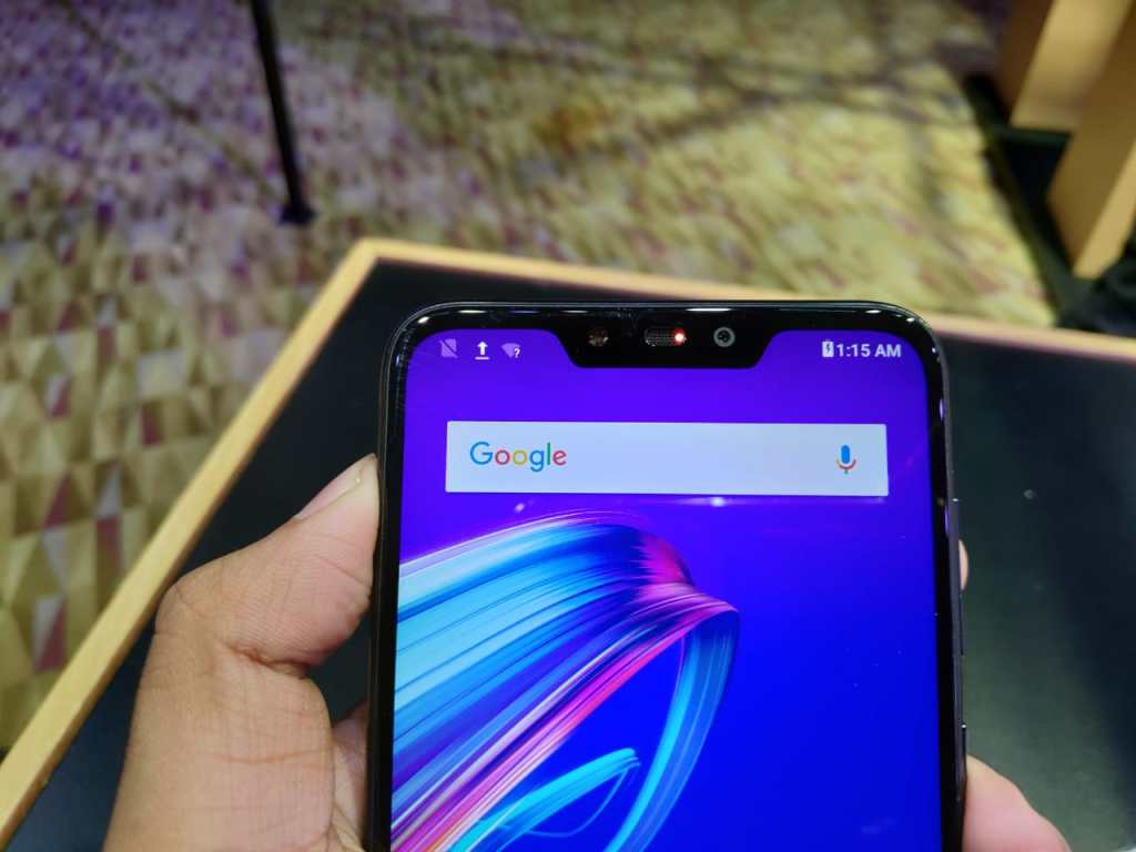ASUS Zenfone Max M2 - Notch