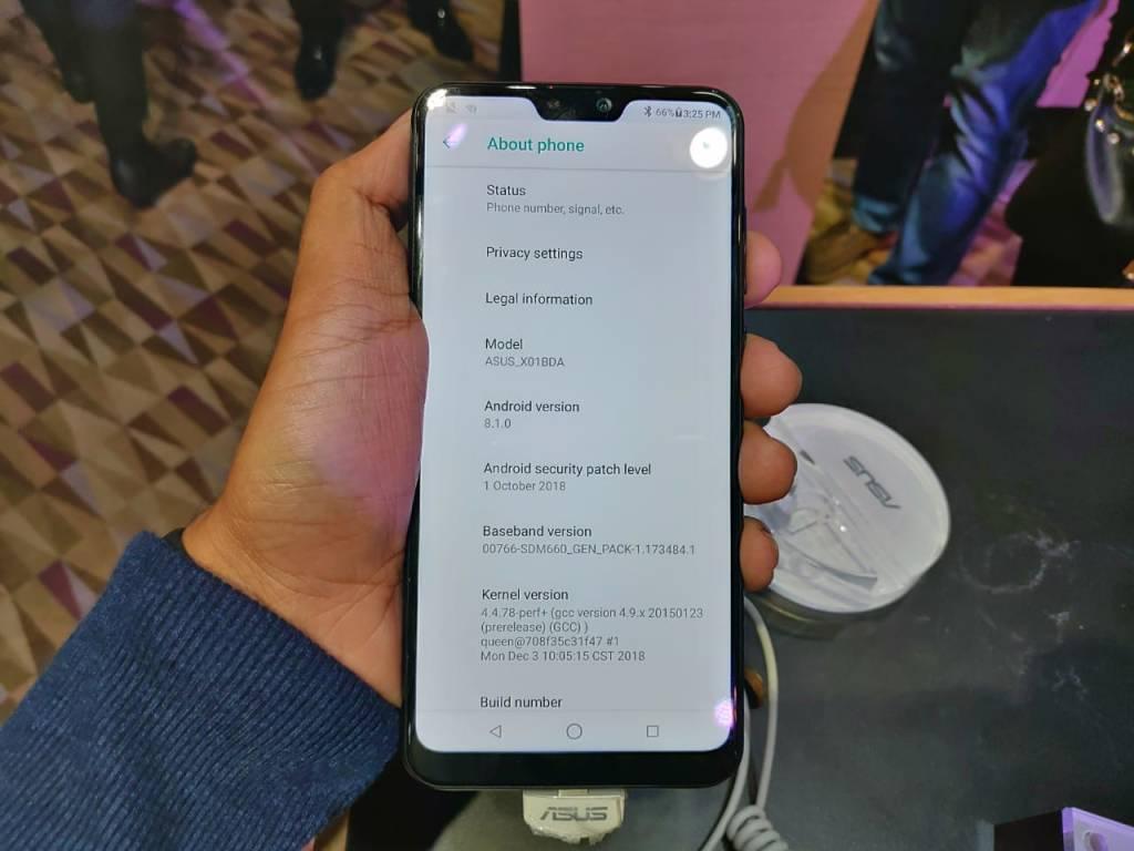 ASUS Zenfone Max Pro M2 - OS