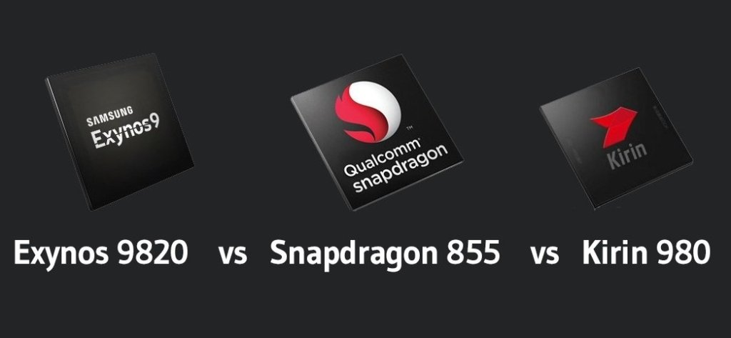 Snapdragon 855 VS Kirin 980 VS Exynos 9820 Comparison