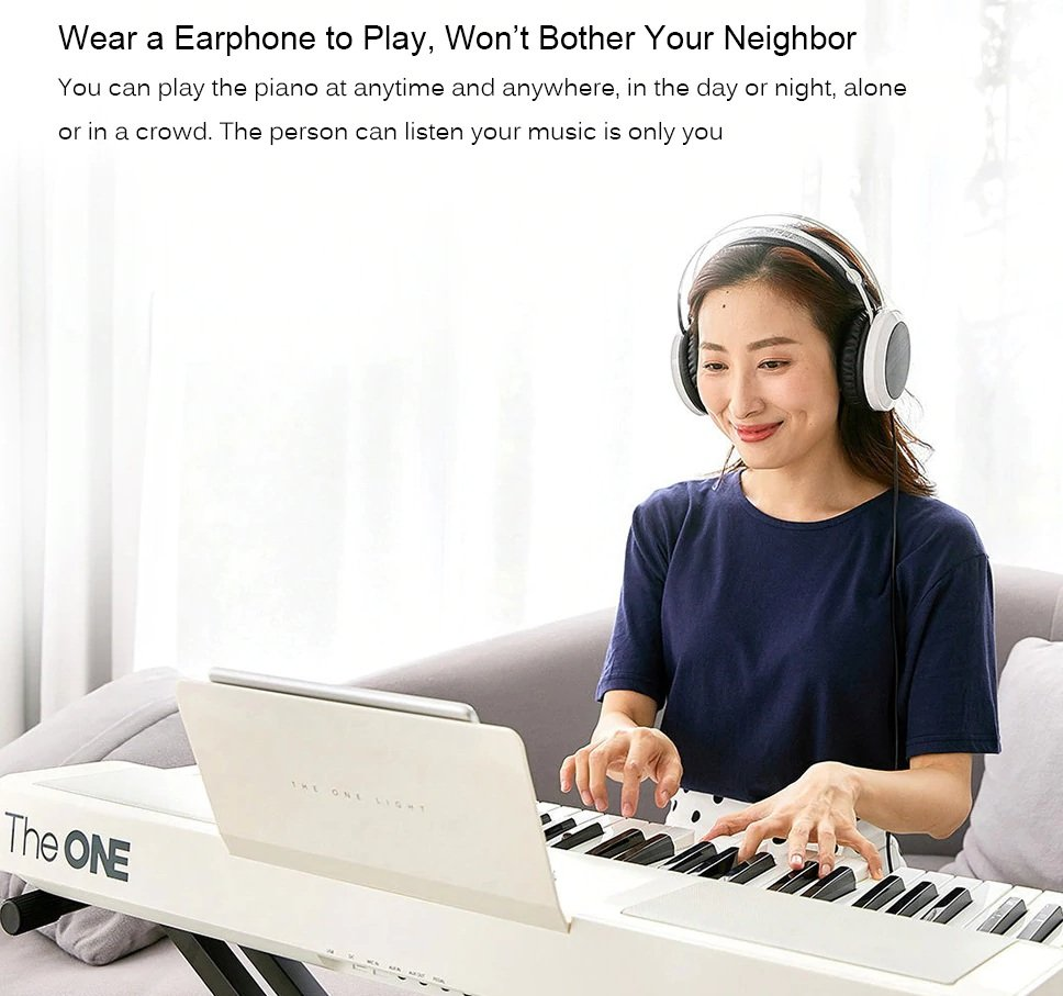 Xiaomi Youpin Smart Electronic Organ - Headphones