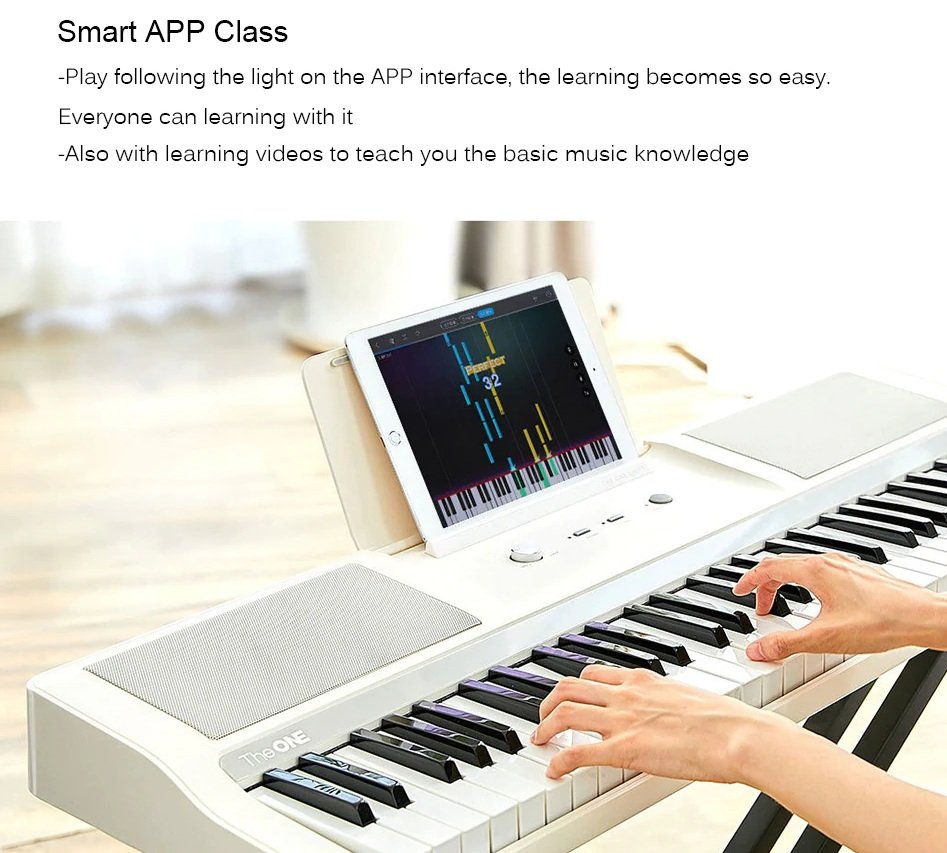 Xiaomi Youpin Smart Electronic Organ - Smart APP