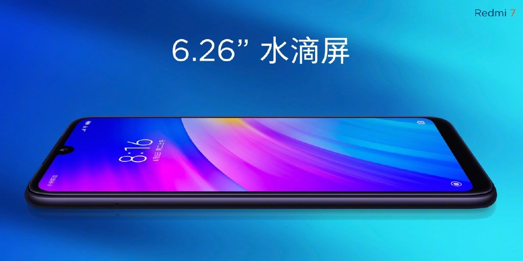 Redmi 7 vs Redmi 6 vs Redmi Go - Redmi 7 Display