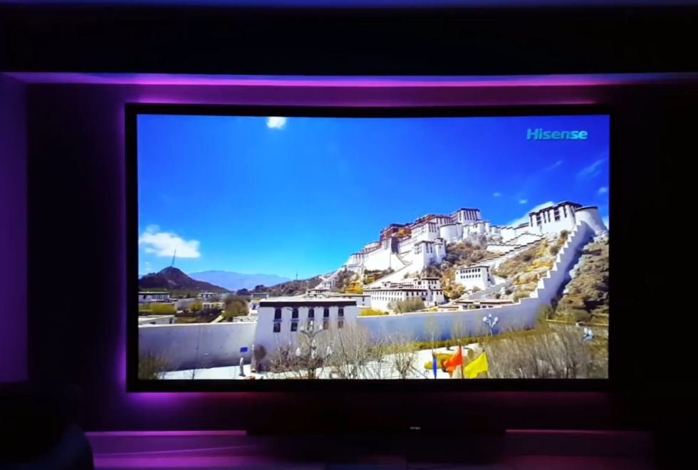 Xiaomi Wemax ONE PRO Projector – projection sample 3