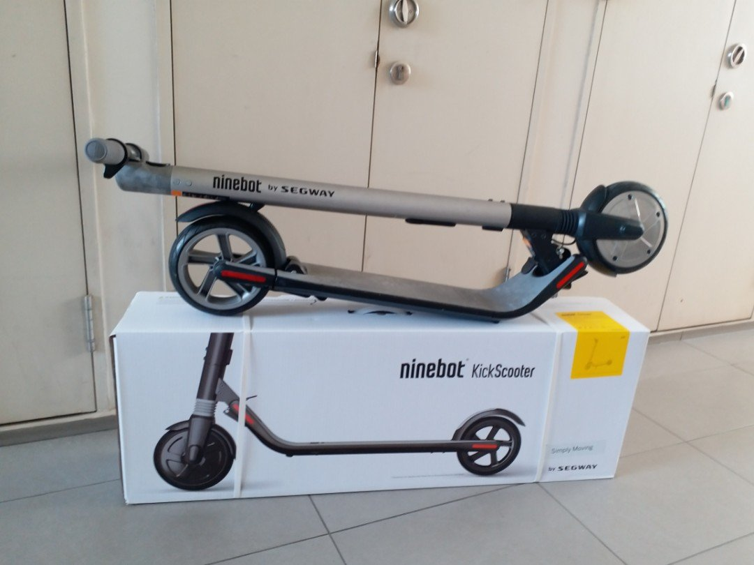 Ninebot Segway ES2 Folding Electric Scooter