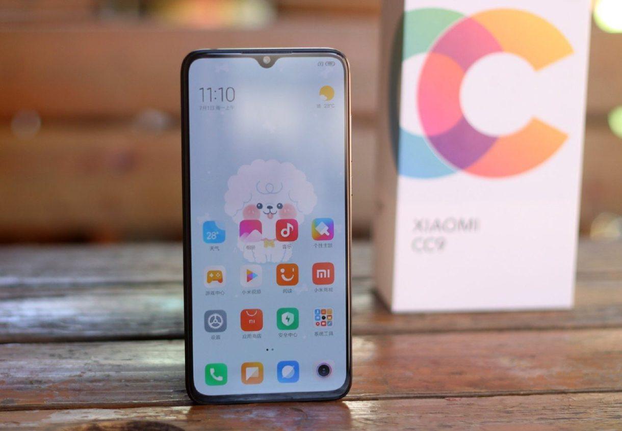 Xiaomi CC9 Front