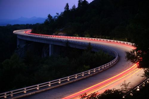 linn cove lights