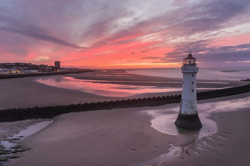 Epic Perch Rock Sunset