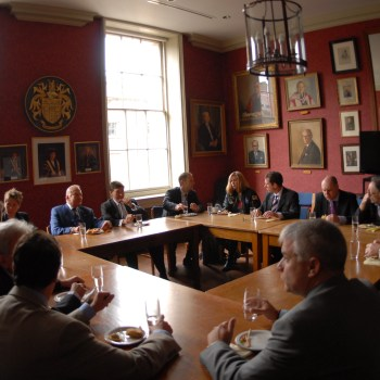 Meeting, London, round table, civil service, career change