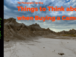 Things to Think about when Buying a Camera