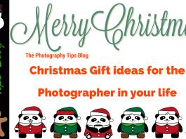 Photography Christmas Gift Ideas