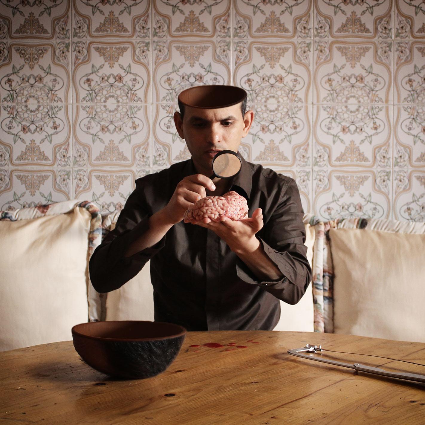 Surrealist Self Portraits By Achraf Baznani The PhotoPhore