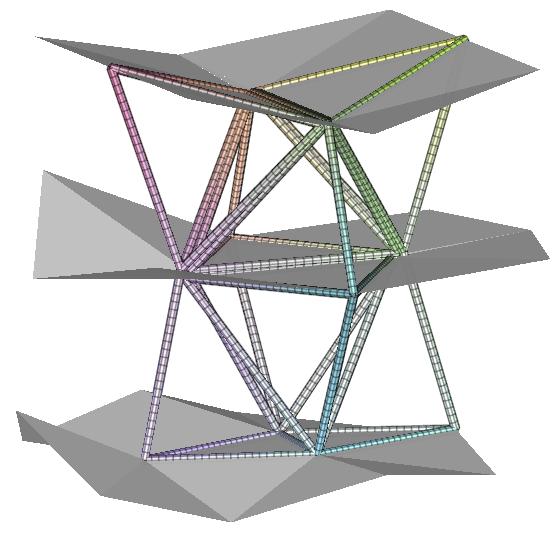 An example causal triangulation