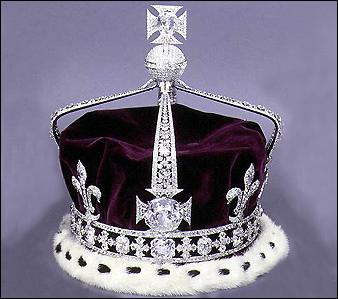 Koh-I-Noor in crown