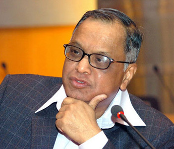 Narayana Murthy, Non-executive Chairman and Chief Mentor of Infosys Technologies Limited