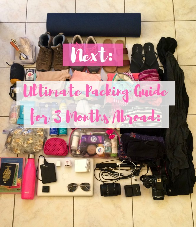 ultimate packing guide up next