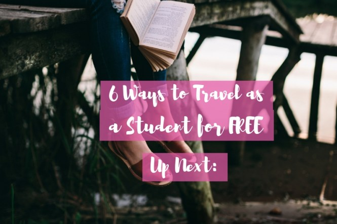 Free student travel - ways to travel for free