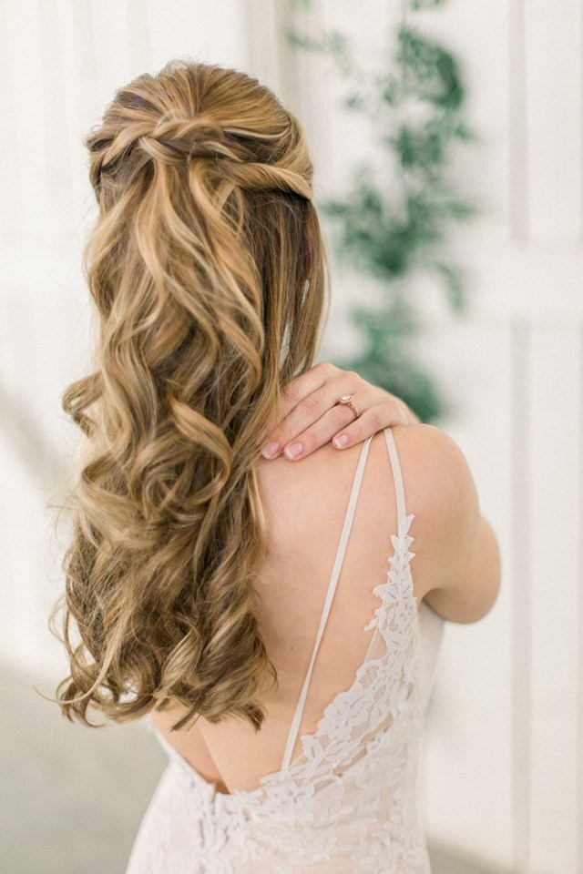 wedding hair dos and don'ts - the pink bride