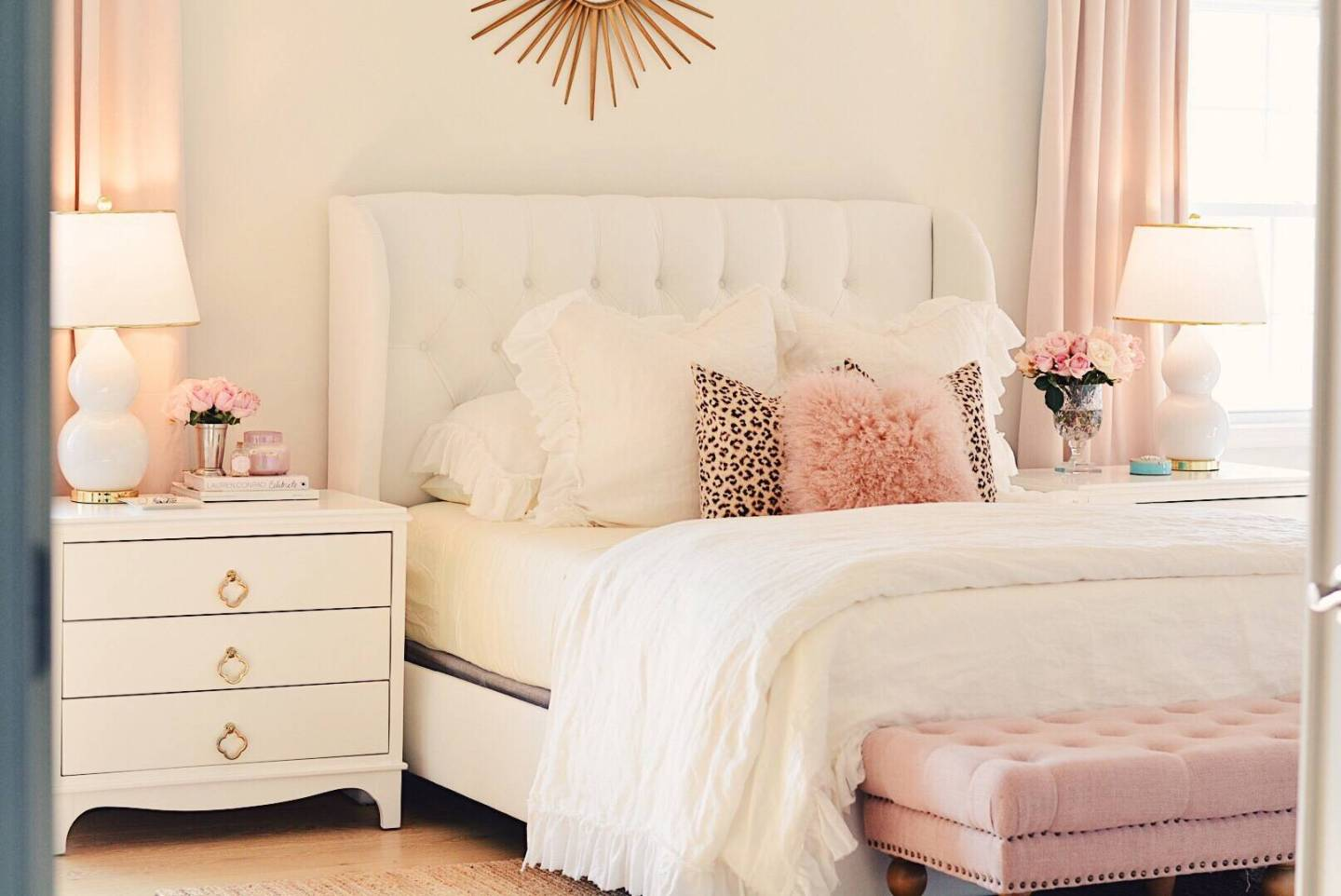 Bedroom Decor Ideas A Romantic Master Bedroom Makeover