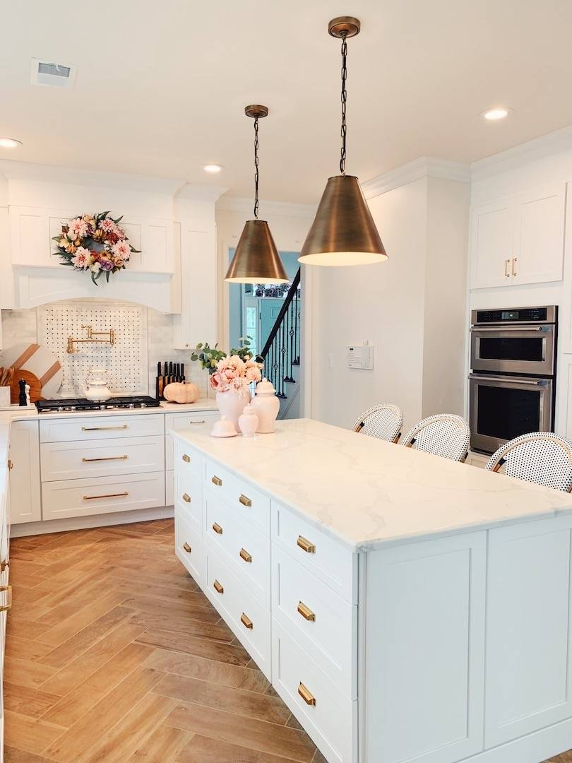 Our Kitchen Renovation Cost Breakdown Where To Save Splurge The Pink Dream