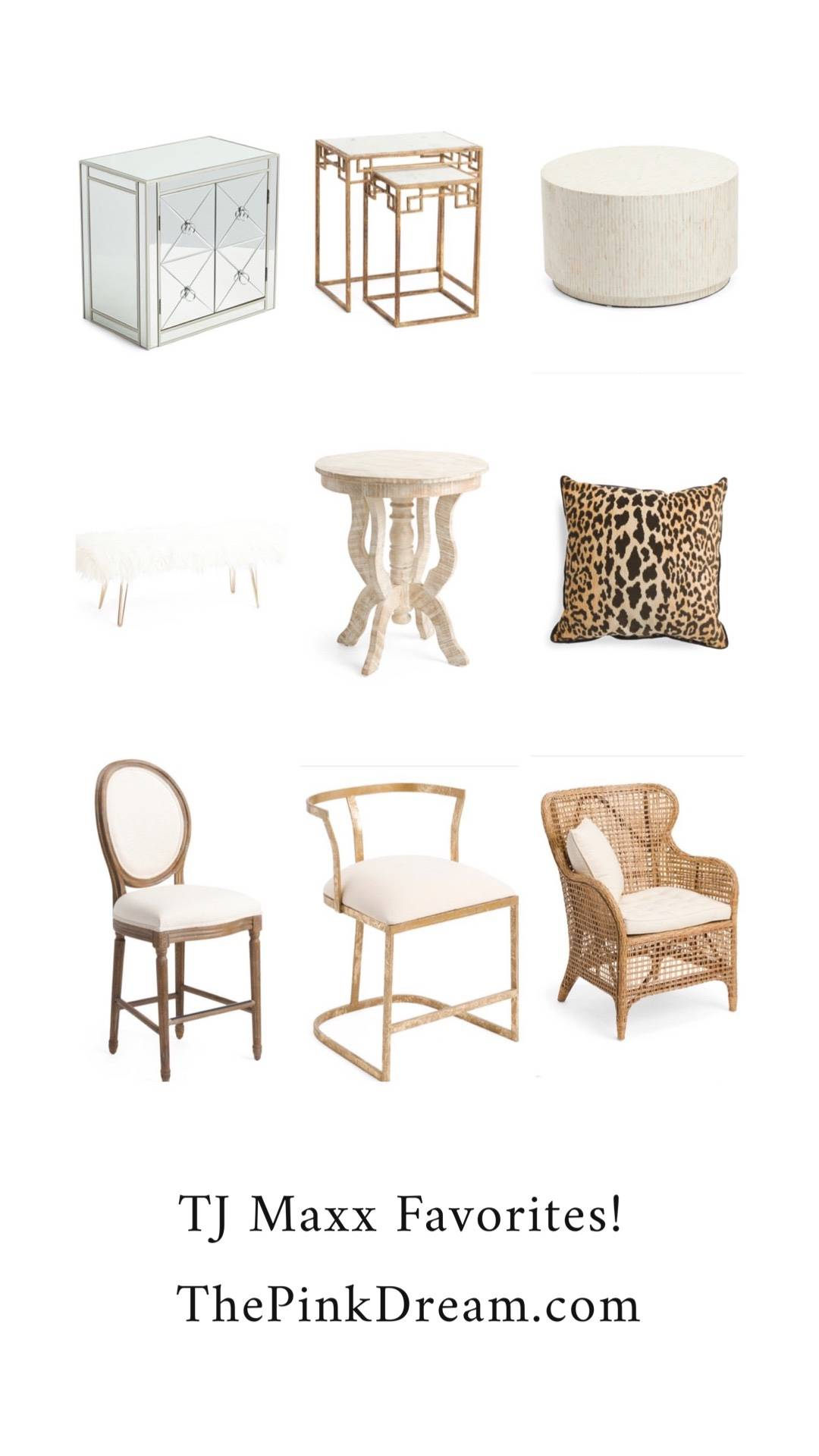 Weekly Favorites: TJ Maxx Furniture - The Pink Dream
