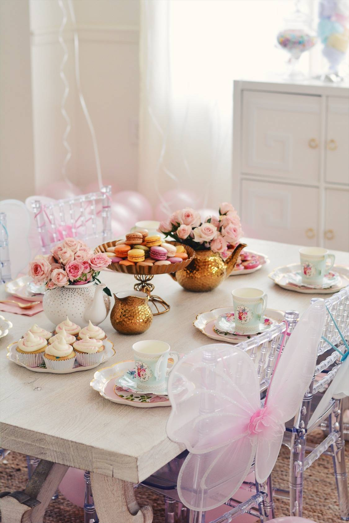 Tea Party Ideas A Princess Tea Inspired Birthday For A 3 Year Old The Pink Dream