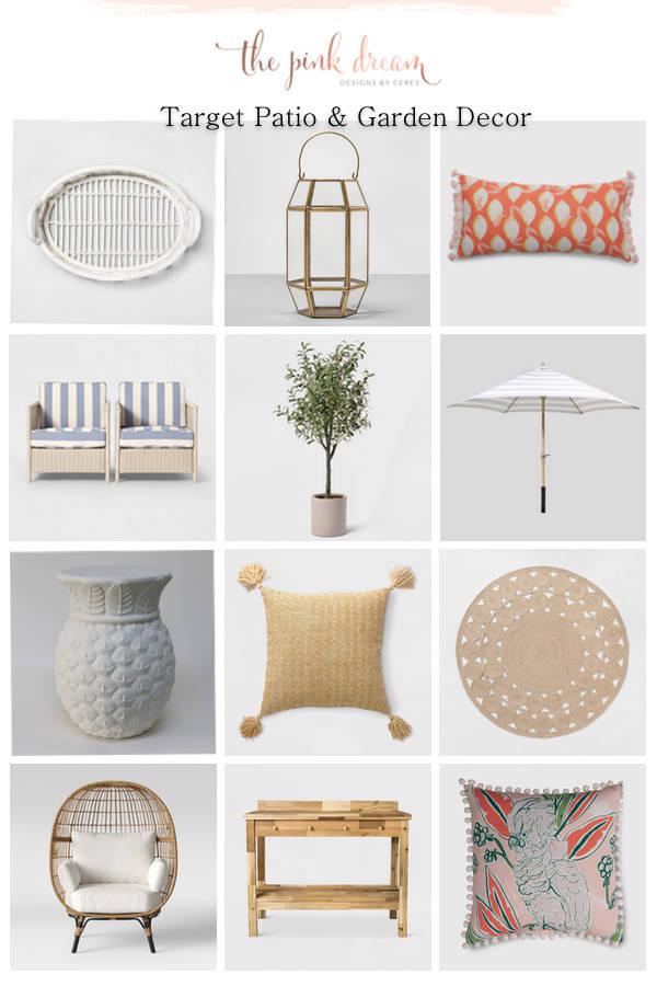 Target Outdoor Furniture Favorites The Pink Dream