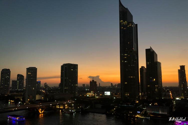 Bangkok Ultimate Travel Guide River Cruises View Shangri-La Sunset