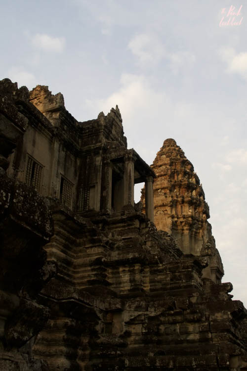 Angkor Wat Tower Sunrise
