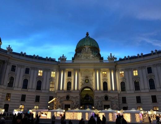 Winter Holiday Vienna Hofburg
