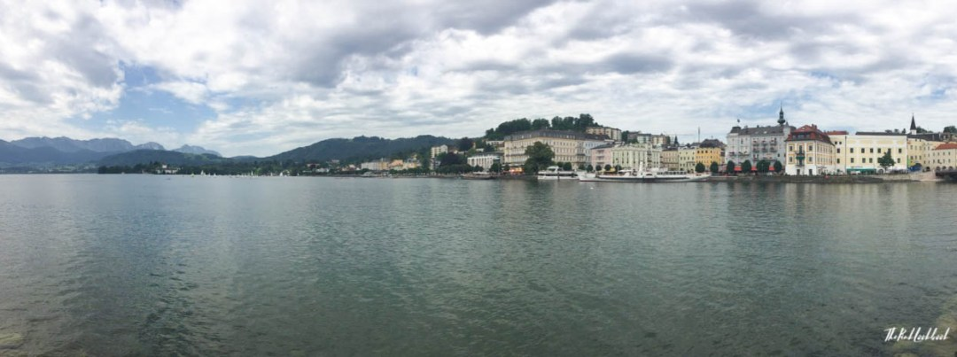 Sound of Music Tour Salzkammergut Gmunden Lake Panorama