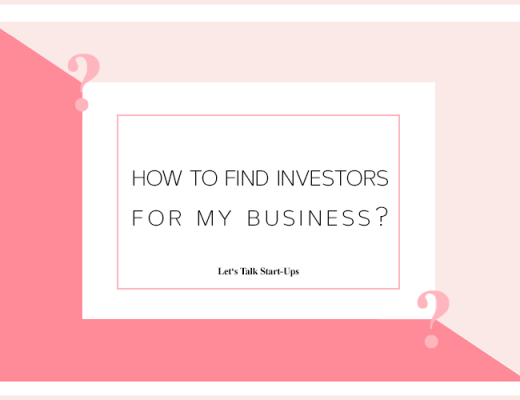 Lets Talk Startups How to Find Investors for My Business