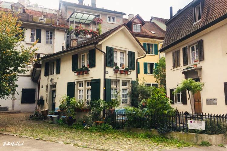 Winterthur Switzerland Day Trip from Zurich Restaurants Smallest House