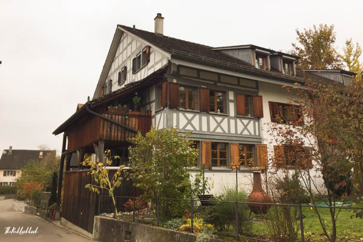 Winterthur Switzerland Day Trip from Zurich Traditional House