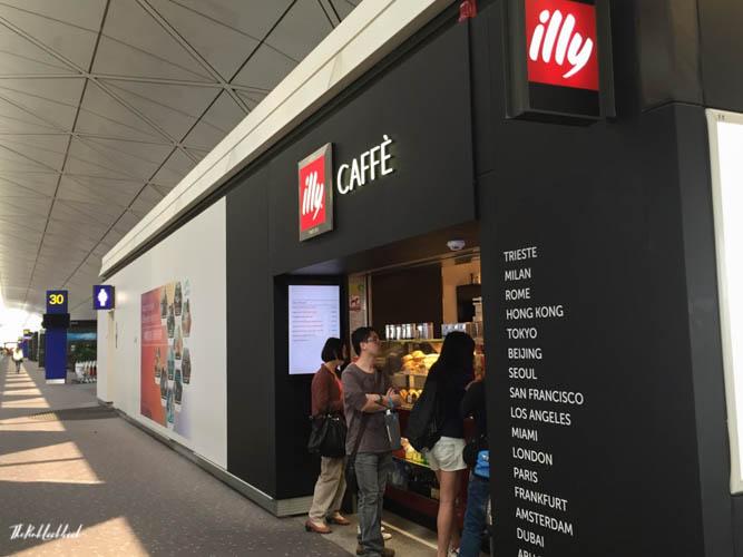 Hong Kong International Airport HKG Guide Coffee