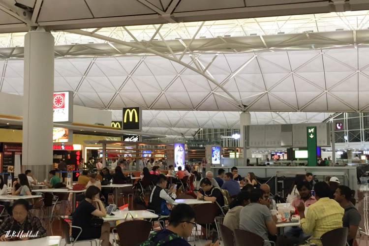 Hong Kong International Airport HKG Guide Food Court