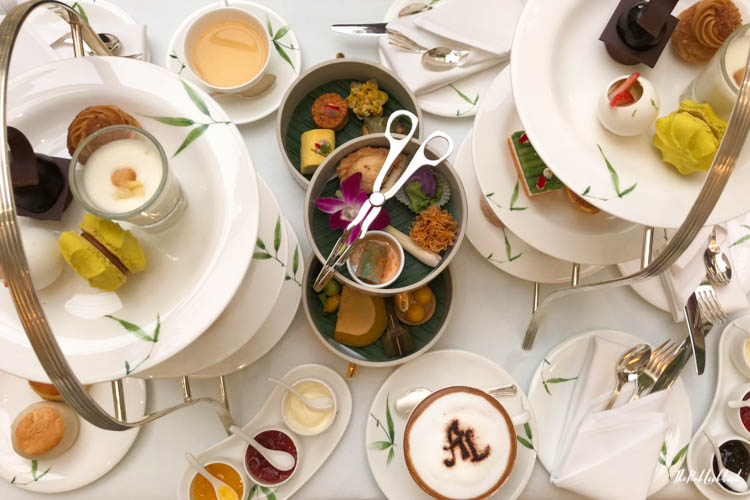 Bangkok Ultimate Travel Guide High Tea Authors Lounge Mandarin Oriental Arrangement