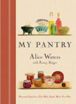 Although Alice Waters has several books that I love, this is very thoughtfully created with her daughters ink drawings brings us back to the creativity within cooking and food.
