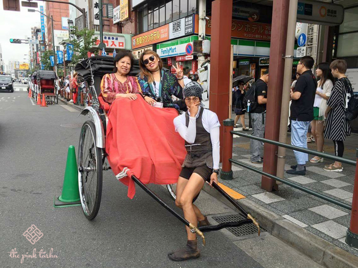 How we ride, Tokyo style.