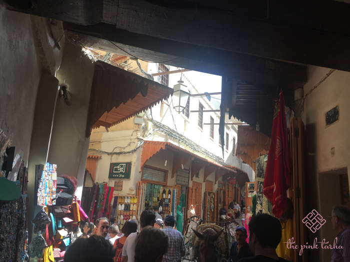You can easily get lost in the medina... and can get very annoyed with touts.