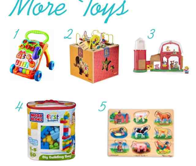 The Ultimate List Of Gift Ideas For One Year Olds Www Thepinningmama Com More Toys