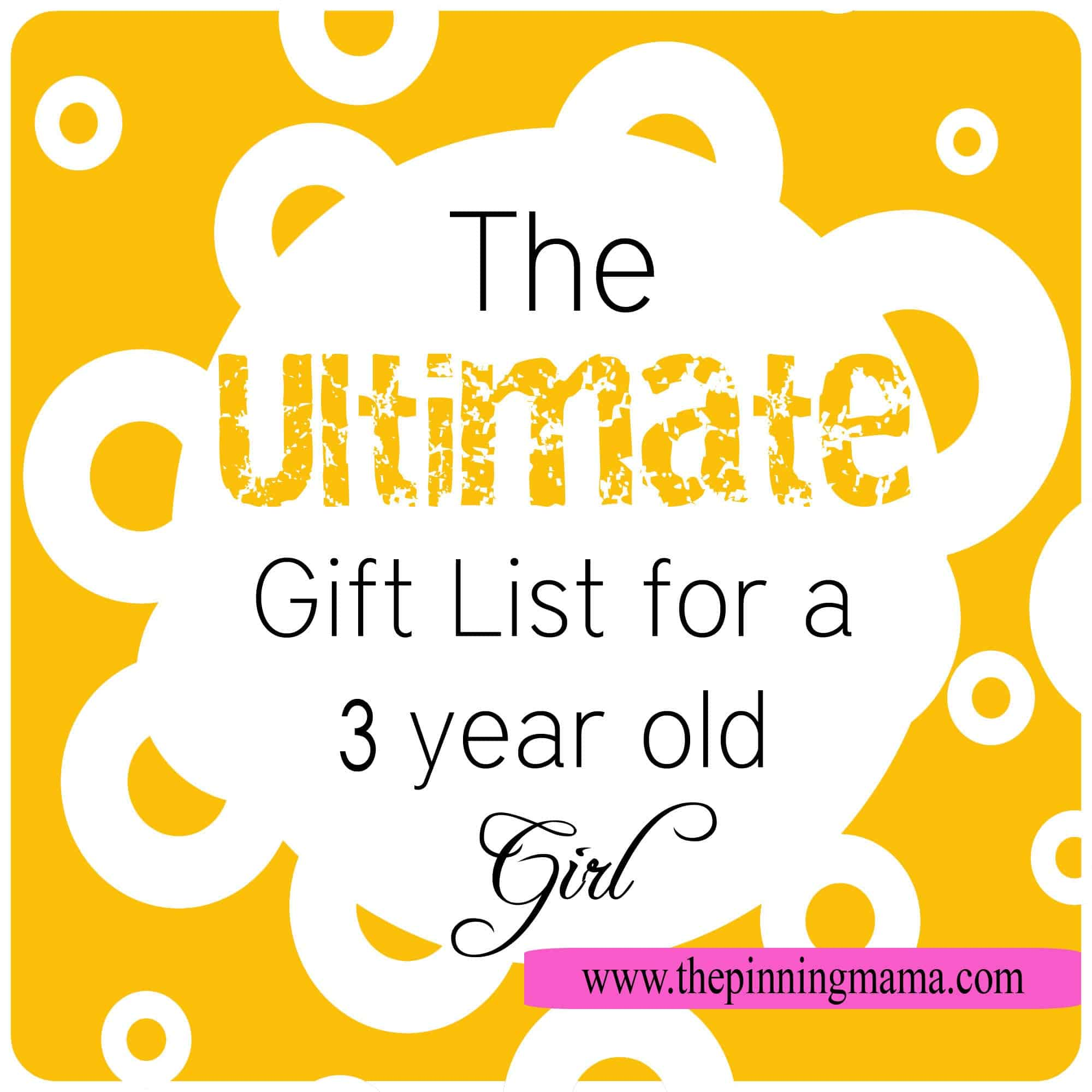 The Ultimate T List For A 3 Year Old Girl The