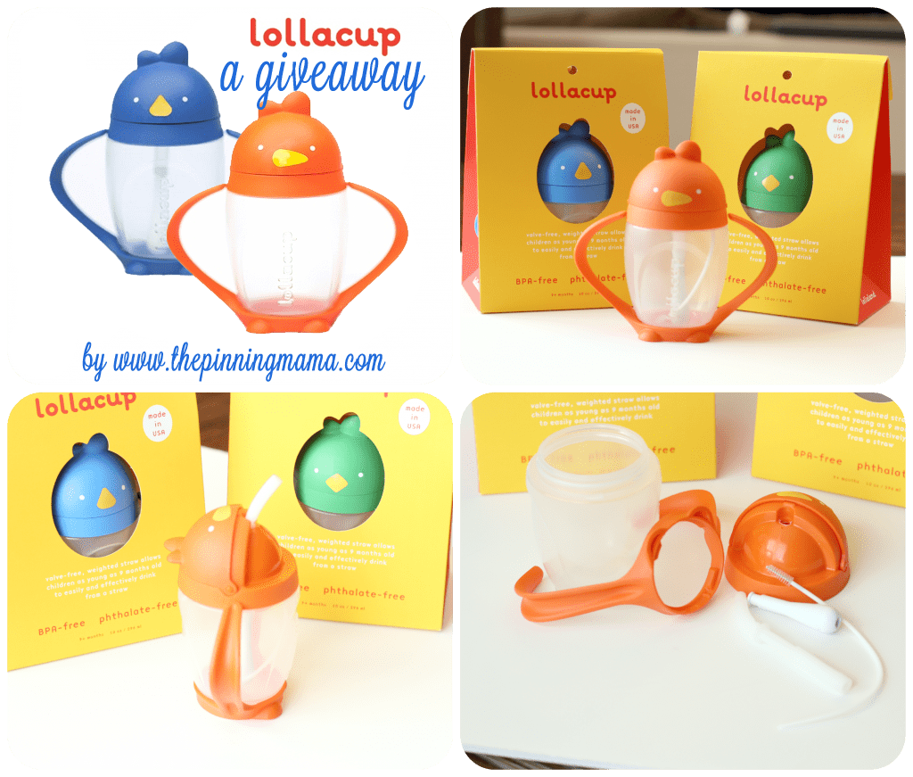 Giveaway - Lollacup Sippy Cup www.thepinningmama.com