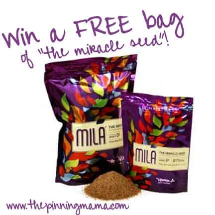 "mila ""the miracle seed"" www.thepinningmama.com"