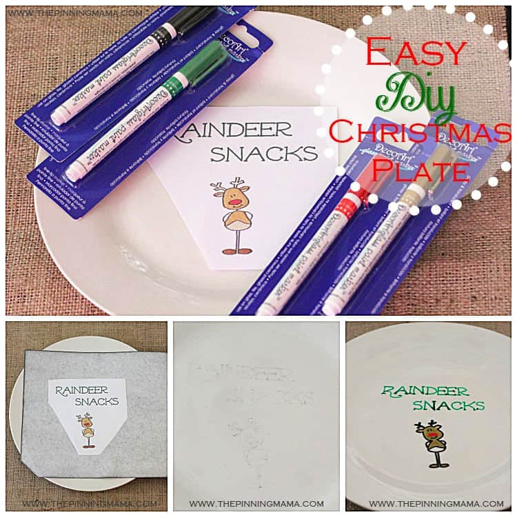 Reindeer Snacks Plate1 web